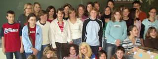 Klasse 8c des Johann-Andres-Schmeller-Gymnasiums, Nabburg