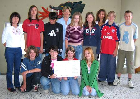 Abensberger Schüler der Hauptschule Aventinus