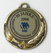 Medaille der Abensberger Siedlervereinigung (Front)